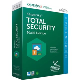 Kaspersky Total Security  5 PC / 1 Year    Multi Device