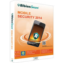Albion Secure Mobile Security 2014, multicolor, 1 user