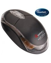 Quantum QHM 222 USB Optical Mouse, black