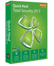 Quick Heal Total Security 2013 (10 User 3 Year) , green, green