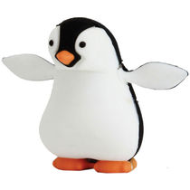Microware Penguin Shape Designer Fancy Pen Drive, 4 gb, standard-multicolor