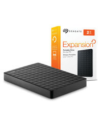 Seagate 2Tb Expansion Portable Hard Drive,  black