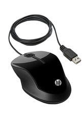 HP X1500 USB 2.0 Optical Mouse, black
