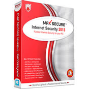 Max Secure Internet Security 2013 3 PC 1 Year
