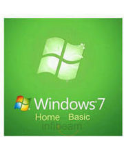 MS Win 7 Home Basic OEM (Green, 32 Bit)