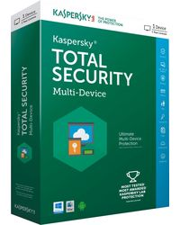 Kaspersky Total Security, multicolor, 1 user