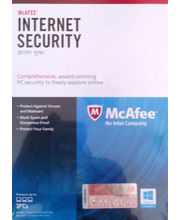 McAfee Internet Security Suite 1Year, multicolor, 1 user