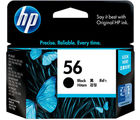 HP 56 Black Ink Cartridge (Black)