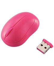 Elecom baby beans/ Pink Wireless Mouse/Laser/3 button