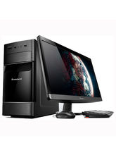 "Lenovo H520e Desktop (57-322440) (Intel Pentium Dual Core G2030t/ 2GB RAM/ 500GB HDD/ 18.5"" Screen/ DOS), black"
