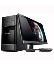 "Lenovo H520e (57-324600) (Intel Core i3 3240t/ 2GB RAM/ 500GB HDD/ 18.5"" Screen/ DOS), black"