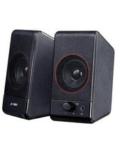 2.0 USB Multimedia Mini Speaker With Compact Design (Black)