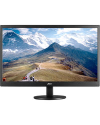 AOC 18.5Inch LED E970SWNL Monitor,  black