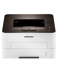 Samsung - SL-M2826ND Single Function Laser Printer,  white