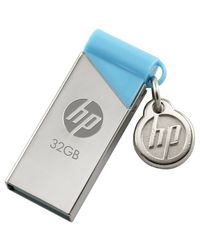 HP V215B 16GB Utility PenDrive, 32 gb, silver blue