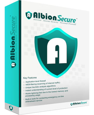 Albion Secure Ultimate Protection, multicolor