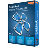 Quick Heal Internet Security 2013 (10 User) , blue