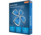 Quick Heal Internet Security 2013 (10 Users-3 Years) , blue