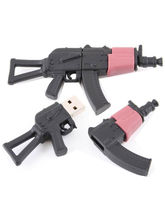 Microware AK 47 Rifle Gun Shape Designer Pen Drive (Multicolor,4 GB)
