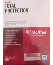 McAfee Total Protection 1 Year, multicolor, 3 users