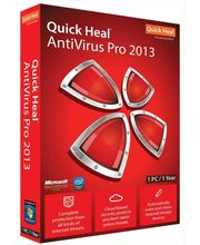Quick Heal Antivirus pro 2013 (Red, 1 User)