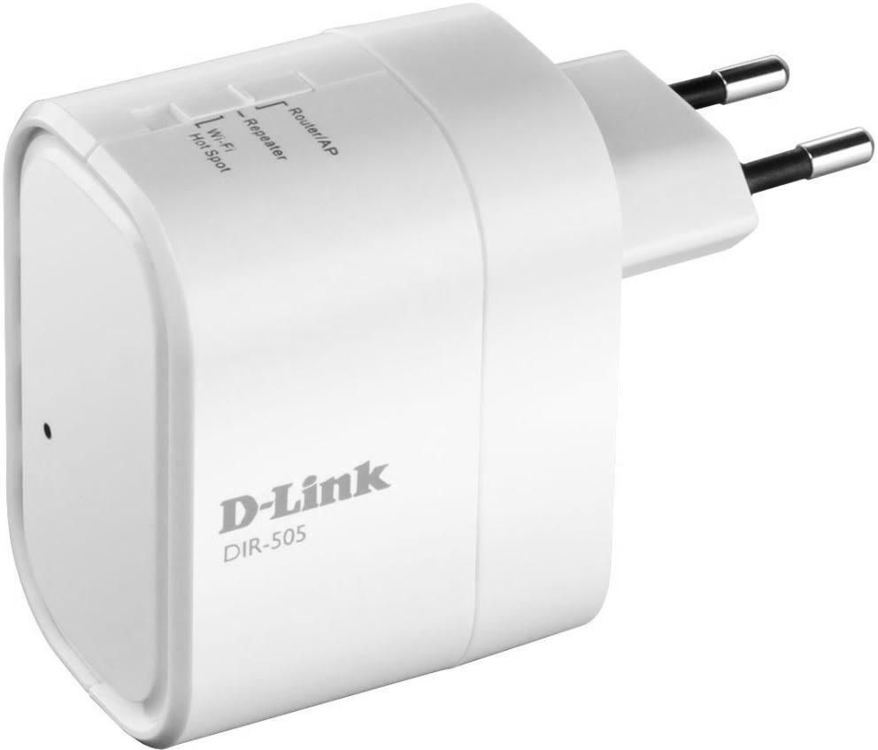 D-Link DIR-505 All-in-one Mobile Companion Router (White)