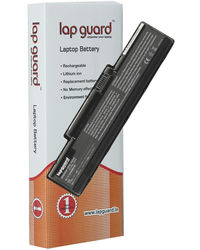 Lapguard 6 cell Replacement Laptop Battery For Acer AS07A32 Black