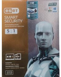 Eset Smart Security Version, mutli color, 5 users
