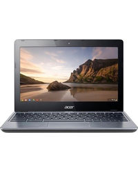 Acer C720 Chromebook (4th Gen CDC/ 2GB/ 16GB SSD/ Chrome OS) (NU. SHESI. 001), smoky grey