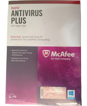 McAfee Antivirus (User 1)