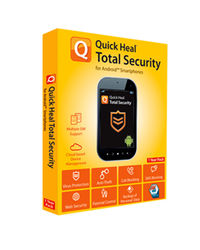 Quick Heal Mobile Security 1 user 2 year, multicolor