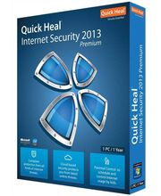 Quick Heal Internet Security 2013 (Blue,1 User)