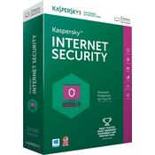 Kaspersky Internet Security Latest Version, multicolor, 1year, 3 users