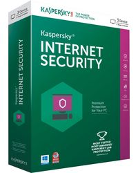 Kaspersky Internet Security Latest Version, 3 users, multicolor, 1year