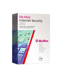 Mcafee Internet Security 2012, 3 users,  red