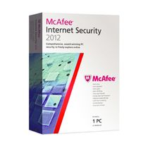 Mcafee Internet Security 2012,  red, 3 users