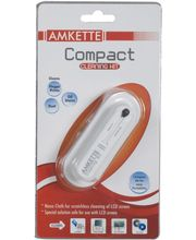 Amkette Compact Cleaning Kit - For Screens (White)