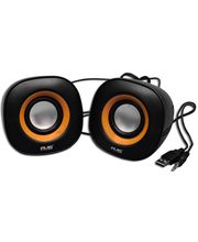 Avis 2.0 USB Mini Speakers (3W x 2), black