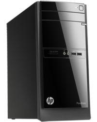 HP 110-106ix Desktop PC(E9T57AA) (Intel Core i3-3240T/ 2GB RAM/ 500GB HDD/ Ubuntu/ Intel HD Graphics),  black