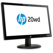 HP 20wd 19.5-inch Diagonal LED Backlit Monitor,  black