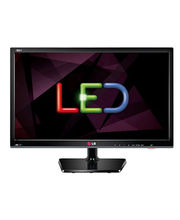LG Personal TV 24MN 33A - TV+ Monitor Function - Full Multimedia Entertainment, black