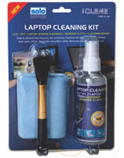 Solo Twin Clean (Screen Cleaner+ Wonder Cloth+ Brush)