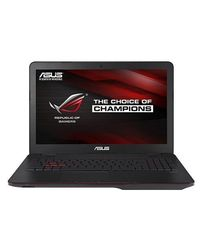 Asus ROG (GL552VW-CN426T) Gaming Laptop (Intel i7/8 GB DDR4/1TB HDD/WIN 10), gray metal