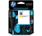 HP 18 Yellow Officejet Ink Cartridge (C4939A) (Yellow)