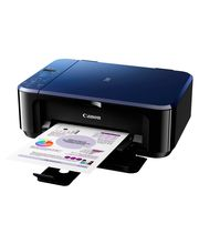Canon PIXMA E510 Multifunction Inkjet Printer, blue