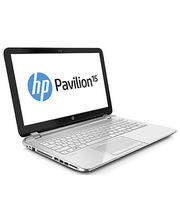 HP Pavilion 15-n260tx Notebook PC (1.7 GHz Intel Core i3-4010U/ 4GB RAM/ 500GB HDD/ Win8.1/ AMD Radeon HD 8670M Graphics), pearl white