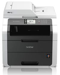 Networked High Speed Colour LED Multi-Functional Centre with Double-sided Printing,  white
