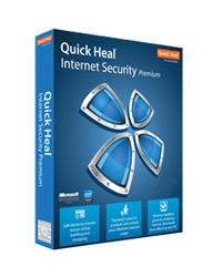 Quickheal Internet Security, standard-blue, 3 users