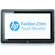 HP Pavilion 23tm 23-inch Diagonal Touch Monitor, multicolor