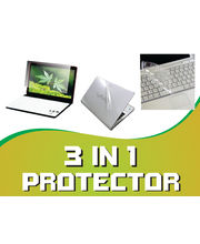 DGB Besta 3 in 1 Laptop Protector Kit(15.6 Inches), multicolor